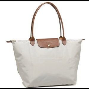Authentic Longchamp Le Pliage Large Tote Putty New